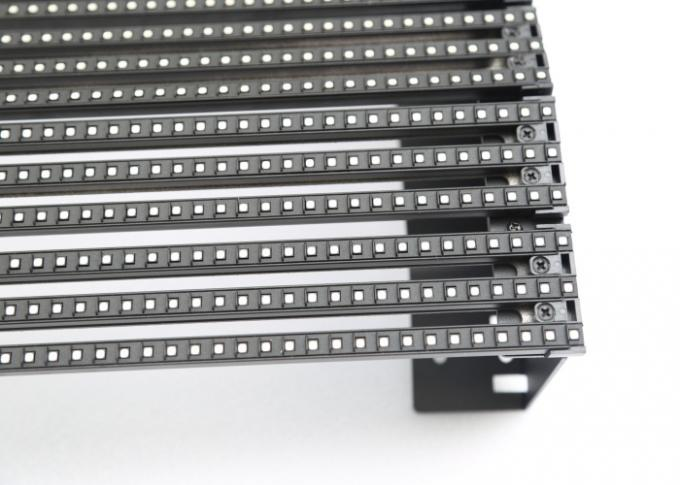 2R2G2B  33mm Soft Led Video Curtain , 70% Transparency DIP LED Strip Screen