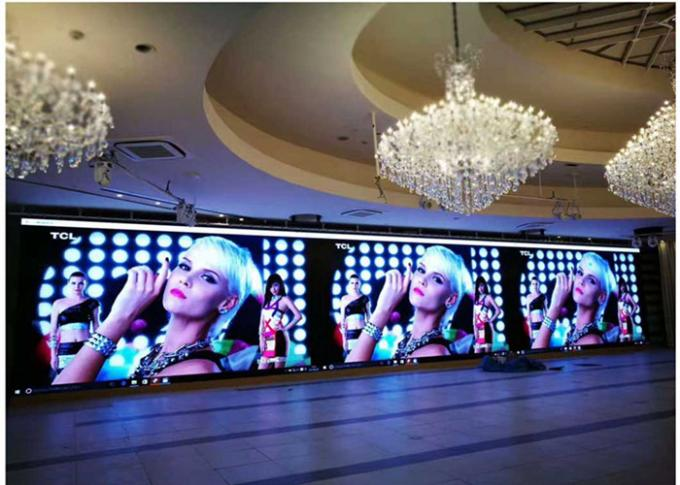 281 Trillion Colors P1.56 Indoor Fixed LED Display For Theaters 1/32Scan Driving Method