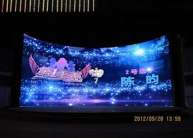 4.81mm Indoor Stage Rental LED Display 1/13 Scan Front / Rear Service Available