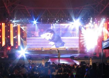 65536 Pixels/M2 Led Stage Curtain Screen , Large Sport Perimeter Led Display