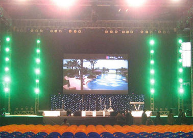 4.81mm Stage Background Led Screen , 1R1G1B Stadium LED Display 420w/M2