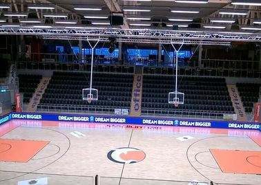 IP65 Portable Sports Perimeter LED Display For Basketball Games High Brightness