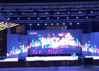 Ultra Slim Stage Rental LED Display With 500X1000mm Cabinet High Contrast Ratio