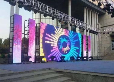 P10.4 Indoor Stage Rental LED Display High Refresh Rate Wide Viewing Angle