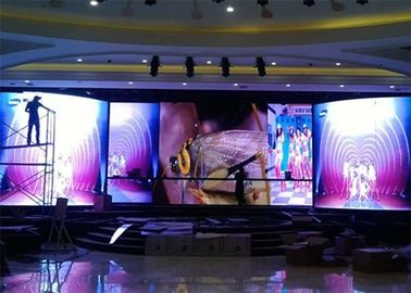 High Brightness Outdoor Stage Rental LED Display P15.6 Seamless Splicing
