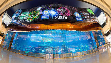 Soft Ribbon Rubber Flexible LED Display For Any Convex, Concave Or Twisted Installations