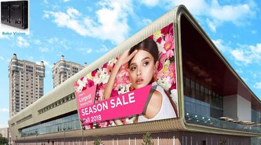 Full Color Led Advertising Billboard Screens Panel Wall P6.67 High Brightness 1920Hz