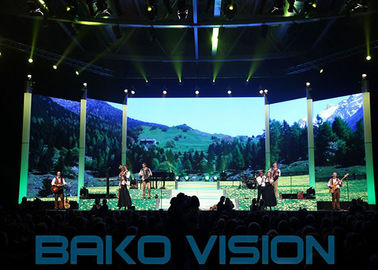 Advertising High Brightness Led Display 1/32 Scan P2.6 Seamless Electronics Stage