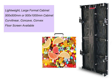 P3.91 Indoor Rental LED Display Event Stage High Definition Screen 1920-3840Hz