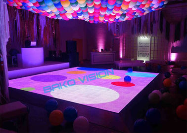 SMD Full Color Indoor Rental LED Display Interactive Dancing IP43/IP54 For Stage