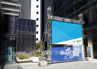 Stage Outdoor Rental LED Display 6000 Nits Wide Viewing Angle 2 Years Warranty