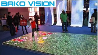 Floor Outdoor Rental LED Display P3.91 P4.81 High Resolution For Wedding / Stage