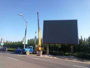 Full Color Outdoor Fixed LED Display P4.81 P6.67 P8 P10 For Railway Station Shopping Mall