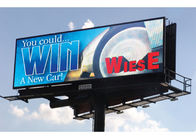 WiFi 4G Control Outdoor Fixed LED Display High Bright 6000 Nits Billboard IP65/IP54